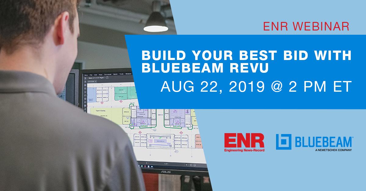 Build Your Best Bid with Bluebeam Revu Registration