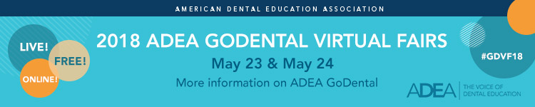 2018 adea godental virtual fairs registration register today fandeluxe Image collections